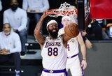 """""""Lakers"""" garbę toliau gins M.Morrisas"""