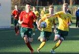 Jaunųjų talentų turnyre lietuviai dalyvaus ir futbolo taisyklių eksperimente