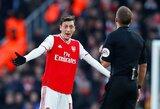 """""""Arsenal"""" kančia dėl M.Ozilo netrukus baigsis: žaidėjas derasi su amerikiečiais ir turkais"""