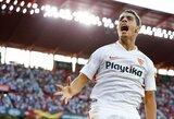 """Europos lyga: svarbią pergalę išvykoje iškovojusi """"Sevilla"""" – žingsniu arčiau aštuntfinalio"""