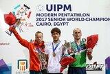 J.Kinderis iškovojo pasaulio šiuolaikinės penkiakovės čempionato bronzą! (papildyta)