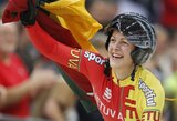 S.Krupeckaitė Japonijos dviračių treko taurėje iškovojo net tris medalius