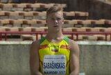 Dešimtkovininkas T.Sabašinskas pasaulio jaunių čempionate užima penktą vietą