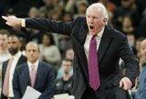 """G.Popovičius apie tritaškius: """"NBA nebeliko krepšinio"""""""