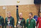Lietuvos vyrai iškovojo tarptautinio Trakų golbolo turnyro auksą, jaunimas – 4-oje vietoje