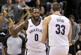 """""""Grizzlies"""" pergalę iškovojo po septynių savaičių pertraukos"""
