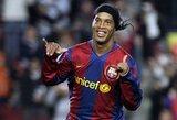 """Ronaldinho: """"P.Coutinho anksčiau ar vėliau persikels į Barseloną"""""""