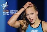Europos plaukimo čempionate Izraelyje Lietuvai atstovaus ir R.Meilutytė