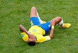 """Pele: """"Nebegaliu ginti Neymaro dėl jo simuliacijų"""""""
