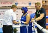 I.Lešinskytė nepateko į Europos moterų bokso čempionato pusfinalį