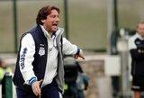 """""""Serie A"""" lygos autsaiderių treneris neišlaikė spaudimo"""