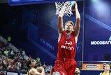 M.Kuzminskas rezultatyviai pasirodė prieš CSKA