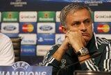 """J.Mourinho: """"Du kartus laimėjau Čempionų lygą grupių etapą baigęs antroje vietoje"""""""
