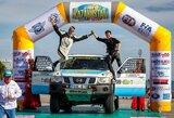 Kazachstano ralyje – vietinio lenktynininko pergalė, A.Juknevičius – pirmas standartinių bolidų klasėje