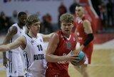 """Rezultatyvus M.Kuzminskas svariai prisidėjo prie """"Lokomotiv-Kuban"""" pergalės prieš Eurolygos klubą"""