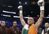 C.McGregoras įsitikinęs, kad revanšinėje kovoje bokso ringe nugalėtų F.Mayweatherį
