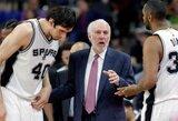 """Naudingai žaidęs B.Marjanovičius prisidėjo prie eilinės """"Spurs"""" pergalės"""