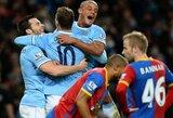 """""""Man City"""" klubas laikinai tapo """"Premier"""" lygos lyderiu, """"Hull"""" per kėlinį įmušė 6 įvarčius"""