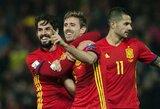 """Ispanijos rinktinė """"Wembley"""" stadione priėmė """"manekeno iššūkį"""""""