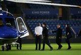 """BBC: sudužusiame sraigtasparnyje buvo ir """"Leicester City"""" savininkas, ir jo dukra"""