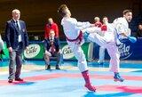 Olimpinės karatė jaunių lygoje kovėsi ir du lietuviai
