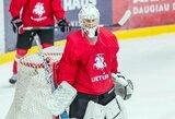 Užsienyje ir toliau sėkmingai žaidžia jaunieji Lietuvos vartininkai
