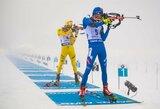 Tragiškose oro sąlygose Lietuvos biatlonininkai iššvaistė progą pasiekti geriausią rezultatą istorijoje