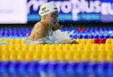 Anykščiuose pagerintas dar vienas Lietuvos plaukimo rekordas, R.Meilutytei čempionatas baigėsi