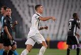 Išrinkti penki gražiausi UEFA Čempionų lygos sezono įvarčiai: viršūnėje – C.Ronaldo