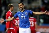 """Italijos rekordą pagerinęs F.Quagliarella: """"Man 36-eri metai, tačiau nejaučiu to!"""""""