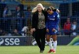"""Karšti debatai: ar gali """"Chelsea"""" trenerį M.Sarri pakeisti moteris?"""