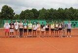 Lietuvos aštuoniolikmečių teniso čempionate šeimininkavo šiauliečiai