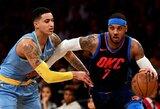 """C.Anthony apie mainus: """"Tai tapę normalu mūsų krepšinio visuomenėje"""""""