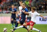 Slovakija draugiškose rungtynėse nugalėjo Daniją rinktinę, kurios startinėje sudėtyje žaidė netikėtų profesijų atstovai
