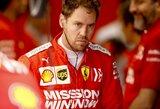 """S.Vettelis naująjį """"Ferrari"""" kontraktą pavadino anekdotu, jo vietą taikosi užimti F.Alonso"""