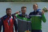 Kanojininkas V.Korobovas iškovojo auksą pasaulio taurės etape, H.Žustautas ir A.Seja pelnė bronzą! (papildyta)
