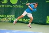 Geriausių pasaulio teniso žaidėjų reitinge R.Berankis išsaugojo turėtą poziciją