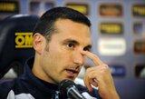 Argentinos rinktinės treneris pateko į avariją