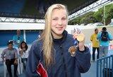Pasaulio mokyklų žaidynėse – pirmasis R.Meilutytės aukso medalis (papildyta)