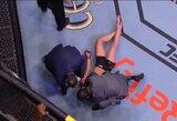 Šiurpu: J.Andrade numetė R.Namajunas galva žemyn ir tapo naująja UFC čempione