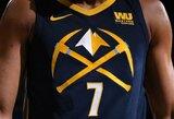 Dvi NBA komandos ketina keisti logotipus ir spalvas