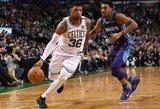 """Nepatenkintas pražangomis prieš J.Hardeną """"Celtics"""" gynėjas sulaukė baudos"""