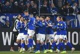 """Berlyne laimėjusi """"Schalke"""" pakilo į antrą """"Bundesligos"""" vietą"""