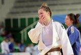 Europos jaunimo dziudo čempionate A.Vasiliauskaitė nukeliavo iki aštuntfinalio