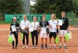 Daugiausiai Lietuvos teniso čempionatų prizininkų šiemet paruošė Šiaulių teniso akademija