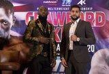 T.Crawfordas prieš kovą perspėjo A.Khaną, legendinis treneris prognozuoja nokautą