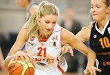 Lietuvos moterų rinktinė pralaimėjimu pradėjo kontrolinių rungtynių ciklą