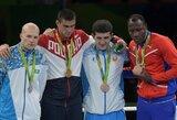 Olimpiados medalių įskaitoje Rusija vejasi lyderių trejetą