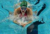 """J.Ruddas: """"Plaukimo krūtine rungtyje Rūta gali tapti geriausia visų laikų sportininke"""""""
