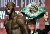 Šansas D.Wilderiui: WBC sukūrė naują svorio kategoriją ir pavadino ją didvyrio berniuko vardu